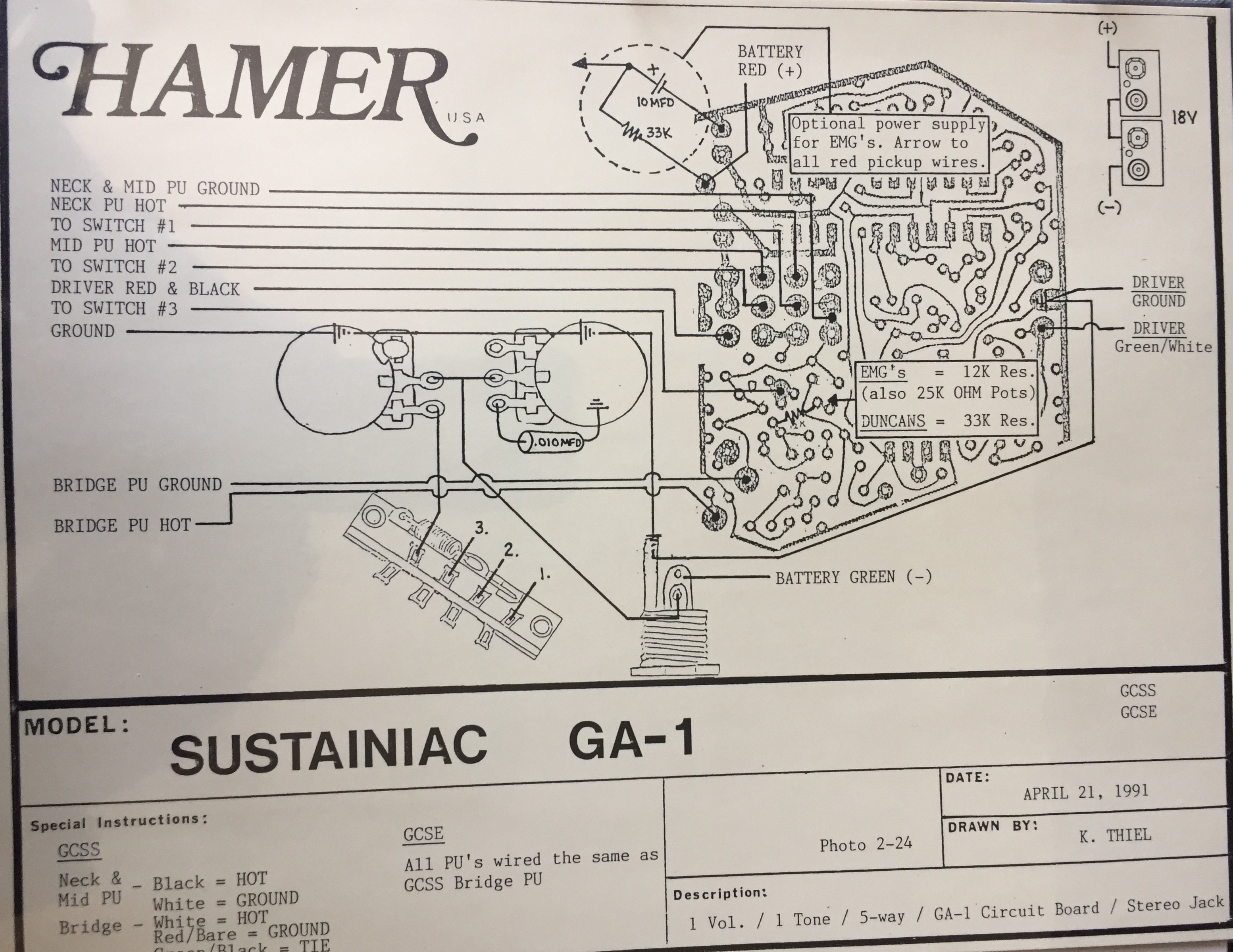 hamer chaparral wiring diagram hamer fan club messageboard hamer rh hamerfanclub com Basic Electrical Wiring Diagrams HVAC Wiring Schematics