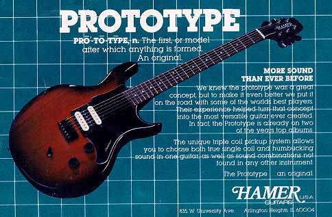 1981 Prototype Card