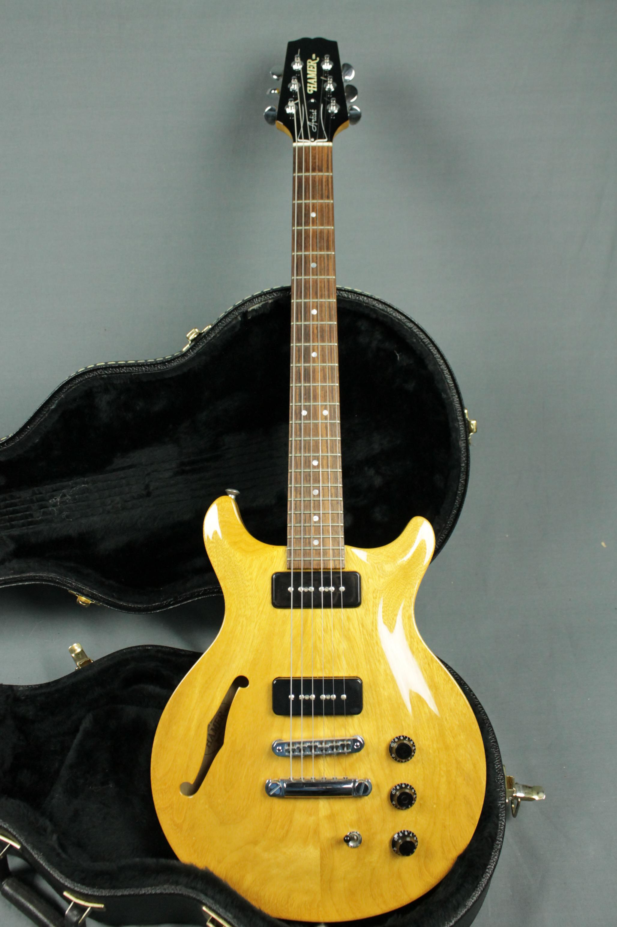 hamers at atlanta vintage guitar for sale wanted to buy pif ebay other psas hamer. Black Bedroom Furniture Sets. Home Design Ideas