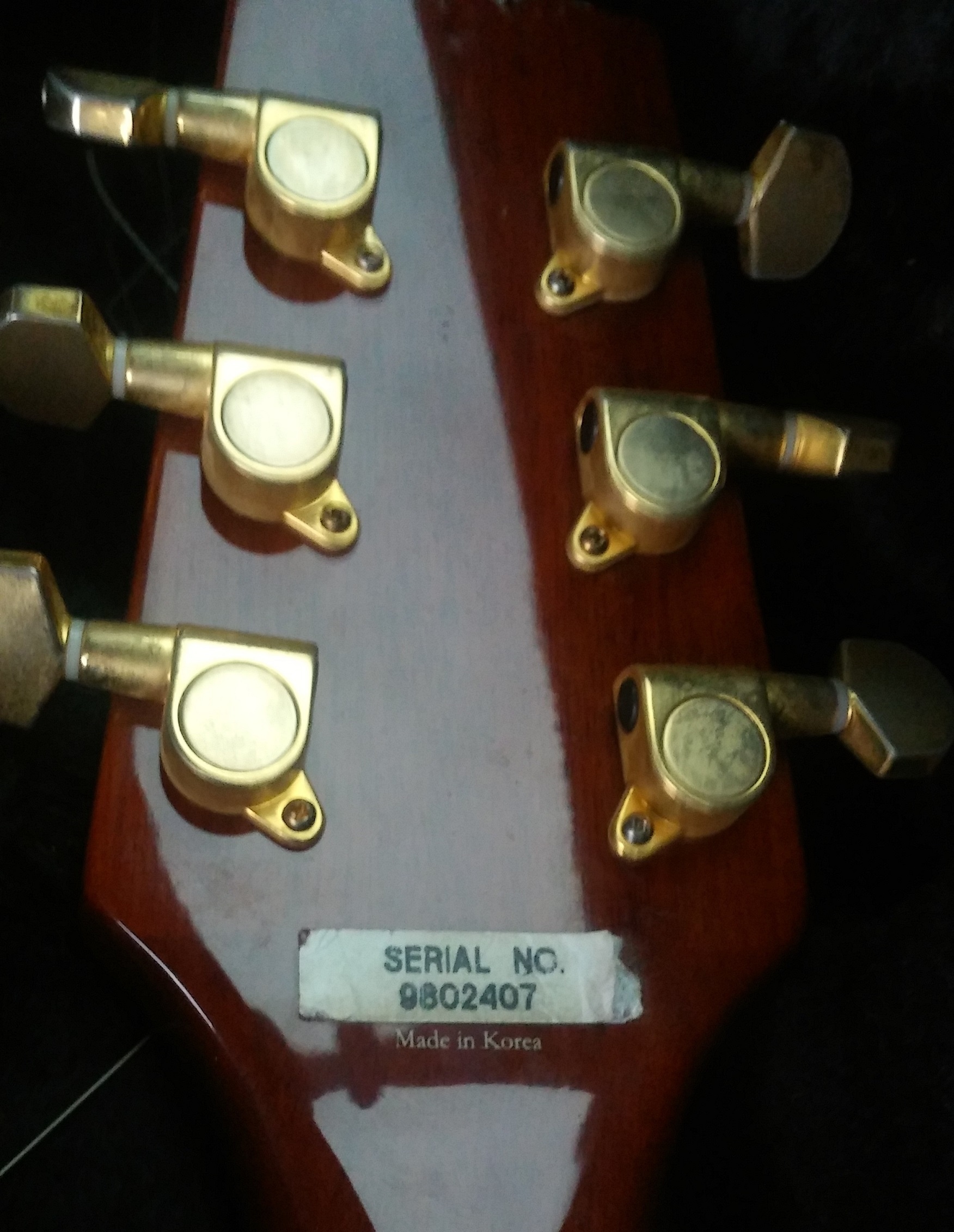 Serial numbers for Korean made guitars - Ask the HFC Experts