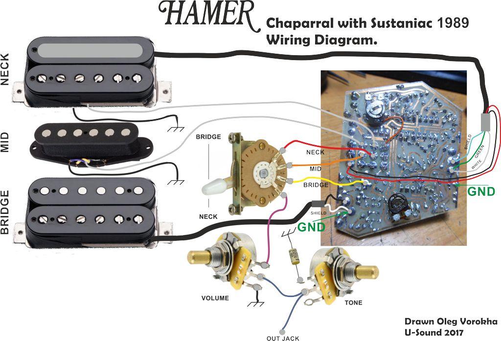 Hamer Chaparral Wiring Diagram - Hamer Fan Club Messageboard - Hamer Fan  Club Message CenterHamer Fan Club