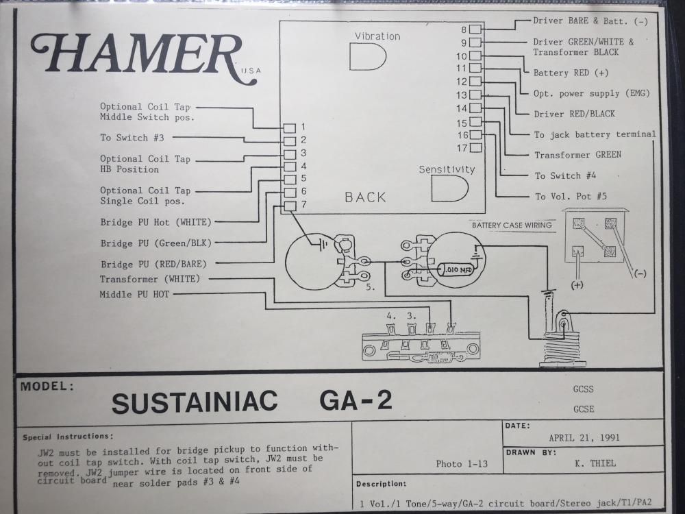 hamer chaparral wiring diagram - hamer fan club ... 3 way toggle switch guitar wiring diagram chaparral wiring diagram #10