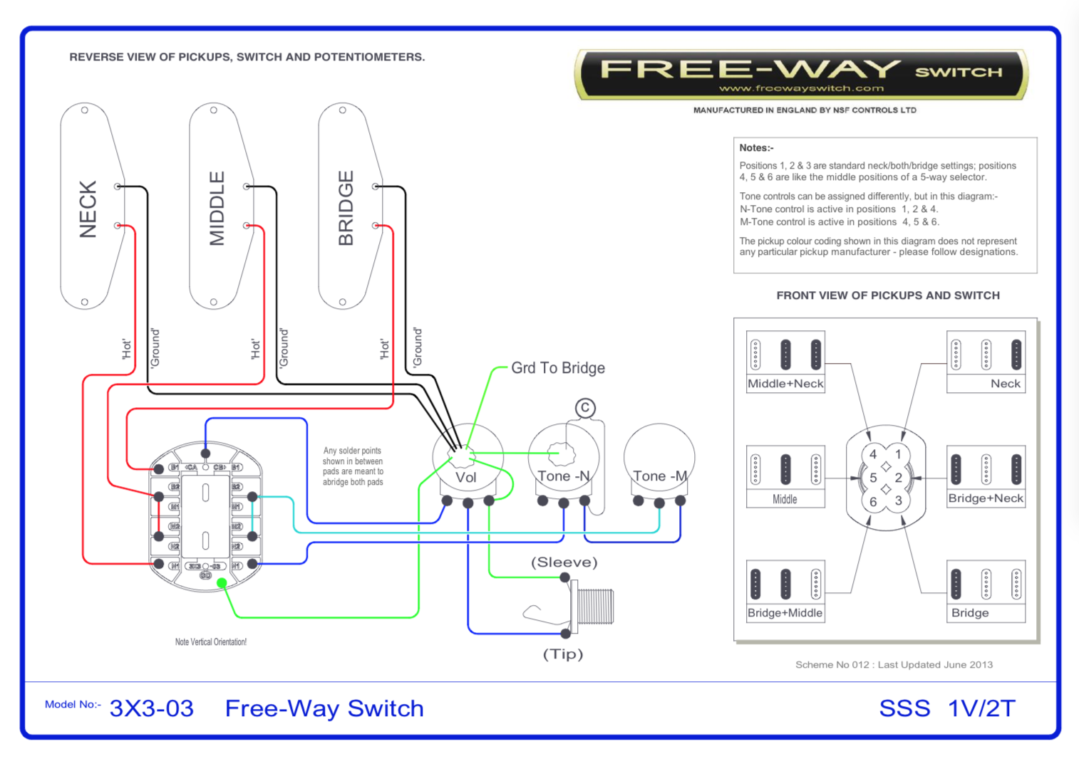 monaco iii freeway switch wiring ask the hfc experts hamer fan rh hamerfanclub com