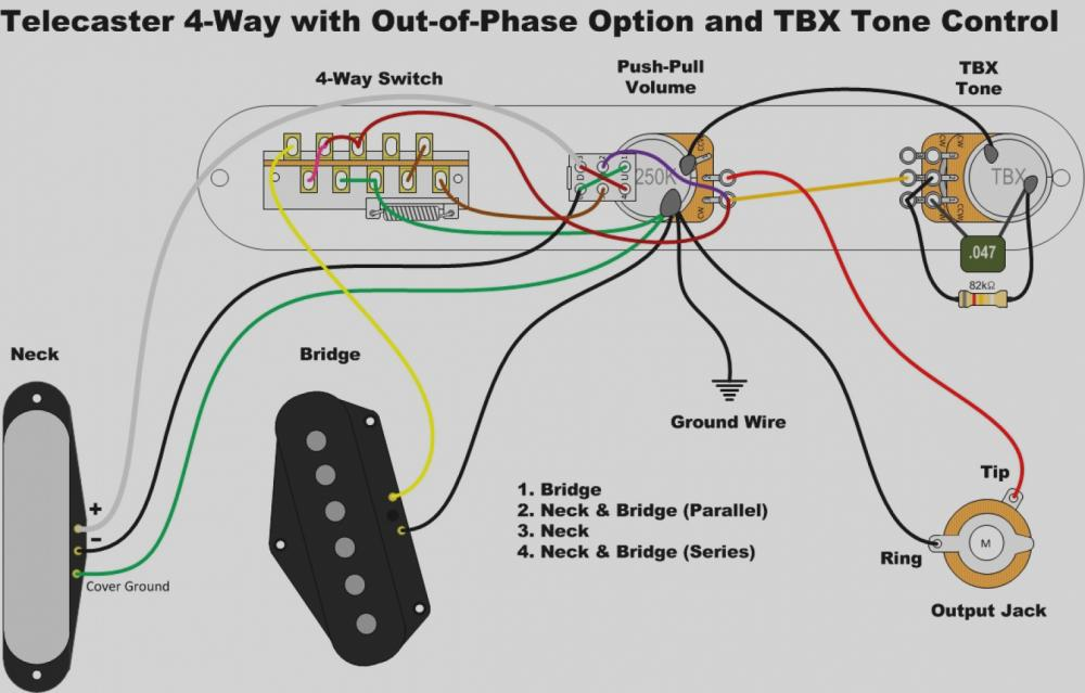 4 Way Telecaster Switch Wiring Diagram - Database